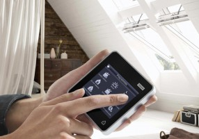 Home automation: finestre Velux Integra con touch pad