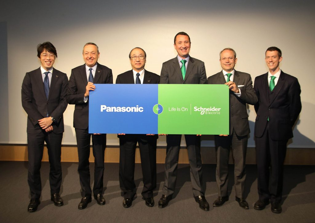 global-partnership-panasonic-schneider-electric
