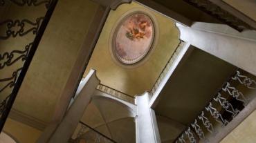 Gli interni dello storico complesso