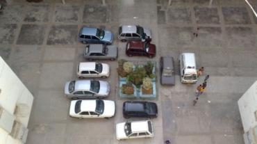 Posti auto in condominio