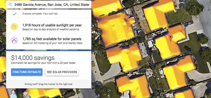 Il fotovoltaico sul tetto conviene? Te lo dice Google