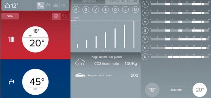 Chaffoteaux: una app per accendere e spegnere la caldaia