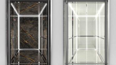 Due versioni dell'ascensore On Air